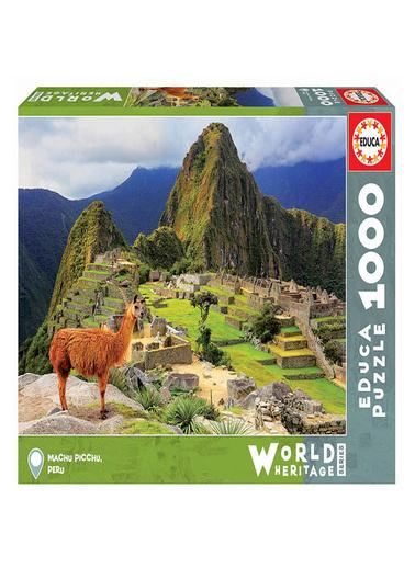 Educa Educa Puzzle 1000 Parça Antik Machu Pıcchu Peru şehri 17999 Renkli